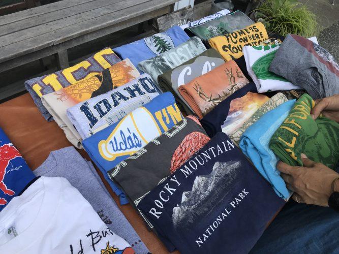 アメリカからやってきたTシャツ祭り