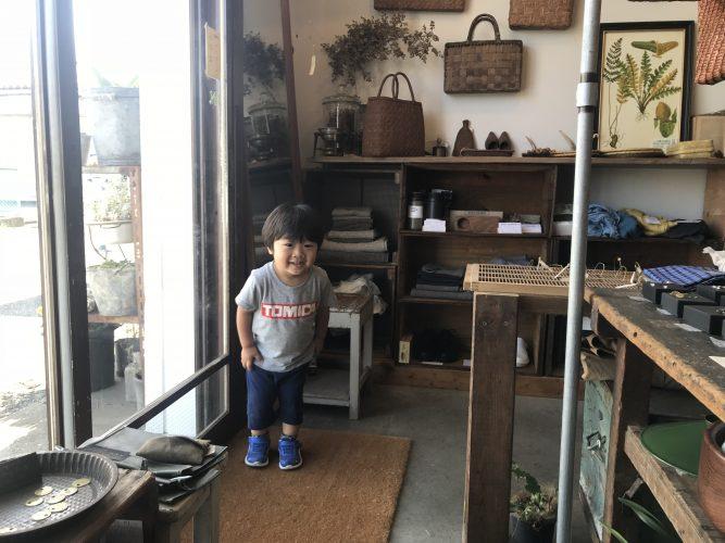 本日、子ども店長が在店中。