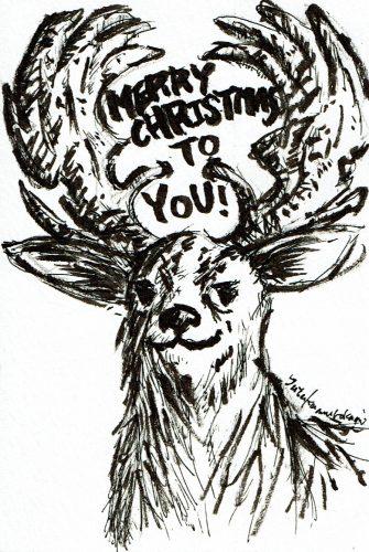 クリスマスカード展開催!カードはまだまだ受付中~^^
